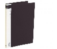A4 Clearfiles 40 Page Black