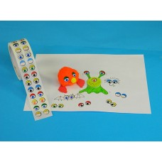 EYE STICKERS 2000 PIECES COLOURED