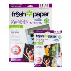 INKJET PHOTO PAPER A4 15'S GLOSS 180GSM + BONUS ( CLEARANCE)