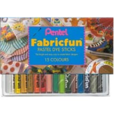 PENTEL FABRIC DYE STICKS Set 7