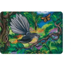 NZ PUZZLE CARDBOARD - FANTAIL