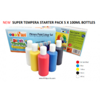 FAS SUPER TEMPERA STARTER SET 100ML X 5