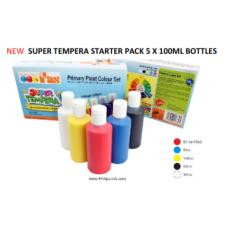 FAS SUPER TEMPERA STARTER SET 100ML X 5