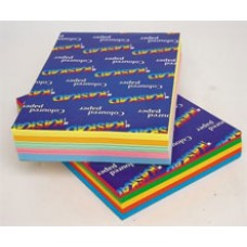 BRIGHT MULTIPACKS CARD A4 160gsm 250'S 5 COLOUR