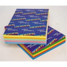 BRIGHT MULTIPACKS CARD A4 160gsm 250'S 5 COLOUR