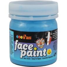 FAS FACE PAINTS 120ML FLUORO BLUE