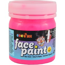 FAS FACE PAINTS 120ML FLUORO PINK