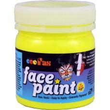 FAS FACE PAINTS 120ML FLUORO YELLOW