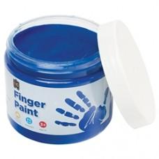 FINGER PAINT 250ML JAR  BLUE