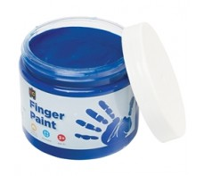 FINGER PAINT 250ML JAR  BLUE
