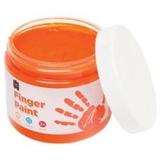 FINGER PAINT 250ML JAR ORANGE
