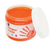 FINGER PAINT 250ML JAR YELLOW