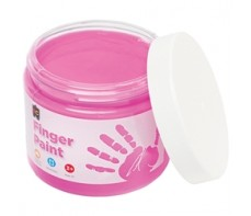 FINGER PAINT 250ML JAR PINK