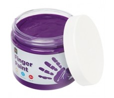 FINGER PAINT 250ML JAR PURPLE