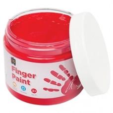 FINGER PAINT 250ML JAR RED
