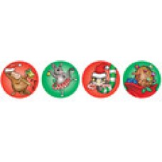 MERIT FOIL STICKERS - CHRISTMAS - PKT OF 84 - FS228