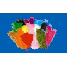 BRIGHT FEATHERS 60GSM - ASSORTED