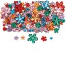 FANCY FLOWER GEMSTONES - PKT 300