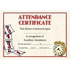 GEO COMPUTER CERTIFICATES - Attendance 25's