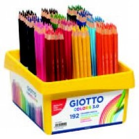 GIOTTO COLOURED PENCILS CRATE 192
