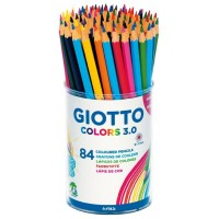 GIOTTO COLOURED PENCILS TUB 84