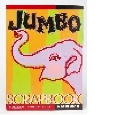 JUMBO COLOURED SCRAPBOOK (Also Called Gum Book)