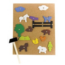 HAMMER IT - FARM WOODEN SHAPES ONLY - 300G