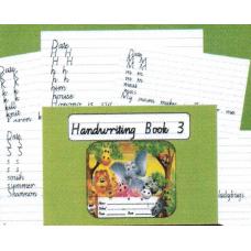 HANDWRITING BOOK 3 ( GT ENTERPRISES)