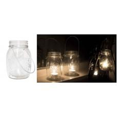GLASS JARS - HANGING