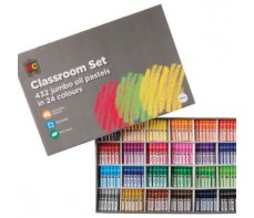 EC JUMBO OIL PASTELS BOX 432