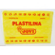 JOVI PLASTICINE 350G LIGHT YELLOW