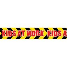 LARGE BORDER - KIDS AT WORK - LB552