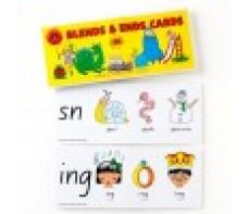 FLASH CARDS GIANT - BLENDING CONSONANTS