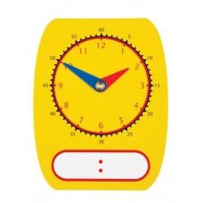 DIGITAL/ANALOGUE CLOCK DIAL - WRITEON / WIPEOFF - SET 5