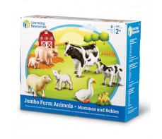 JUMBO ANIMAL SETS - FARM ANIMALS MOTHERS AND BABIES