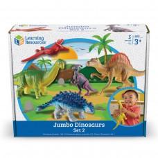 JUMBO ANIMAL SETS - DINOSAURS SET 2