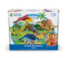 JUMBO ANIMAL SETS - DINOSAURS SET 2