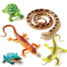 JUMBO ANIMAL SETS - REPTILES AND AMPHIBIANS