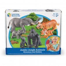 JUMBO ANIMAL SETS - JUNGLE ANIMALS MUMS AND BABIES