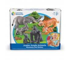 JUMBO ANIMAL SETS - JUNGLE ANIMALS MUMS AND BABIES