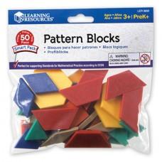 PATTERN BLOCKS PLASTIC - 50'S