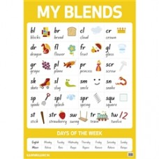 WARWICK MY LITERACY POSTER - BLENDS