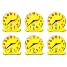 ANALOGUE STUDENTS CLOCK - SET 6 - LSC6