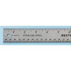 STAINLESS STEEL RULER 100CM
