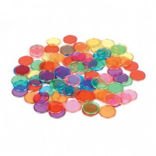 MAGNETIC COUNTING CHIPS - BAG 100