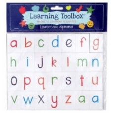 MAGNETIC LETTERS MAGNETS - LOWER CASE