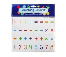 MAGNETIC LETTERS MAGNETS - NUMBERS BASIC MATHS