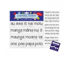 MAORI MAGNETS - PLACE NAMES