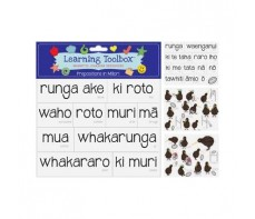 MAORI MAGNETS - PREPOSITIONS