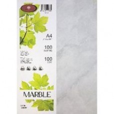 MARBLE CARD - 210GSM - WHITE - 100'S